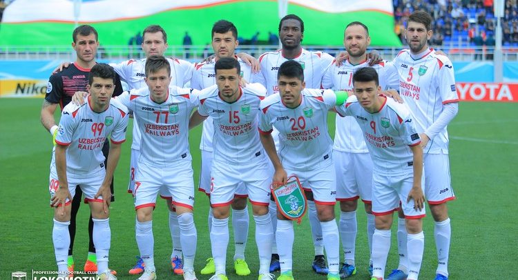 FC Lokomotiv Tashkent UZB --