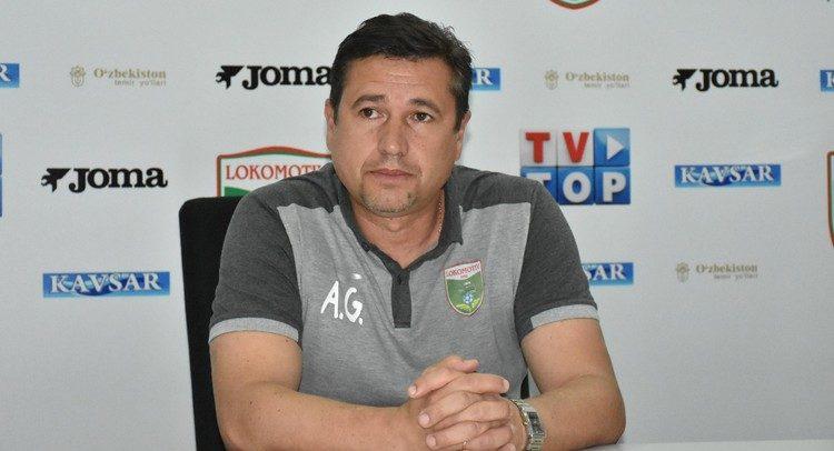 Andrey Miklyaev FC Lokomotiv Tashkent coach - nr2