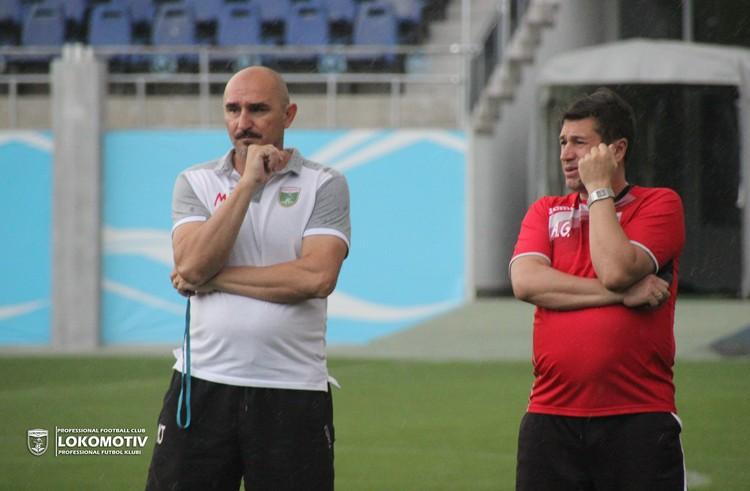 Mirko Jelicic and Andrey Miklyaev _ LOKOMOTIV TASHKENT COACHES -