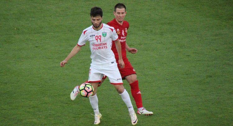 Jaloliddin Masharipov Uzbekistan forward FC Lokomotiv Tashkent UZ