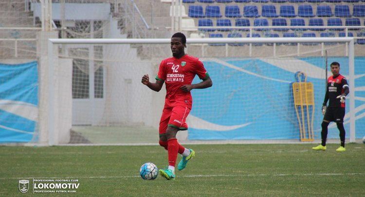 Mohamed Gnontcha Kone Lokomotiv FC Tashkent -