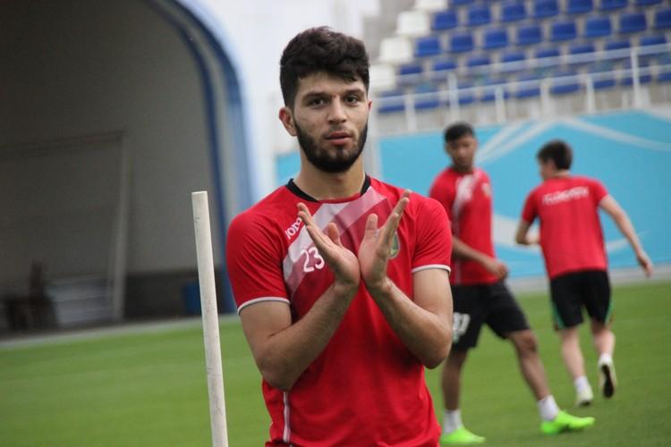 Jaloliddin Masharipov _ FC Lokomotiv _Photo by Zakhir Shakh