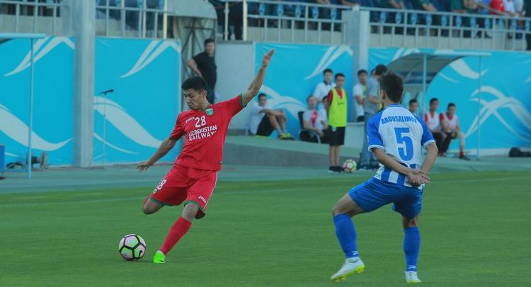 высшая лига узбекистана по футболу - Локомотив Ташкент ФК -7