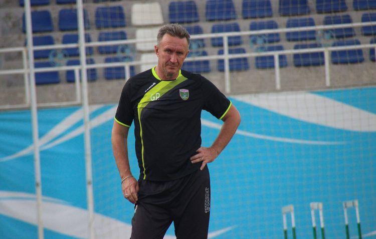 Petr Gizimchuk coach PFC Lokomotiv