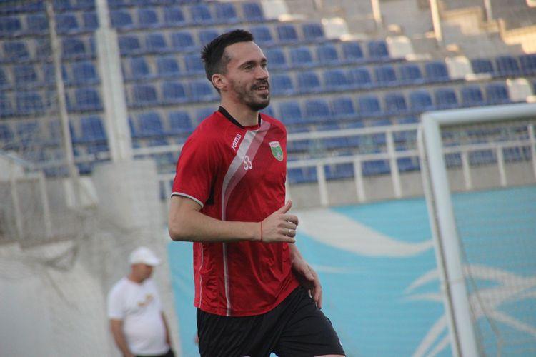 O Zoteev FK Lokomotiv Tashkent UZB