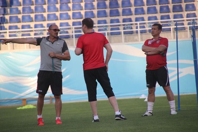 Lokomotiv FC Tashkent coach Mirko Jelicic AUSTRALIA