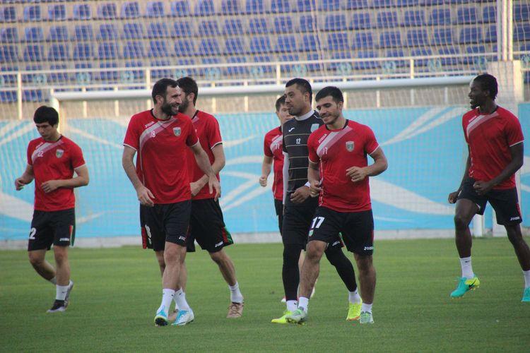 FK Lokomotiv Tashkent Uzbekistan _ Training s_ 123233
