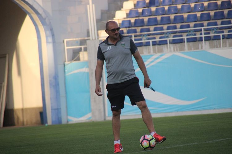 Mirko Jelicic Lokomotiv Tashkent Uzbek - coach