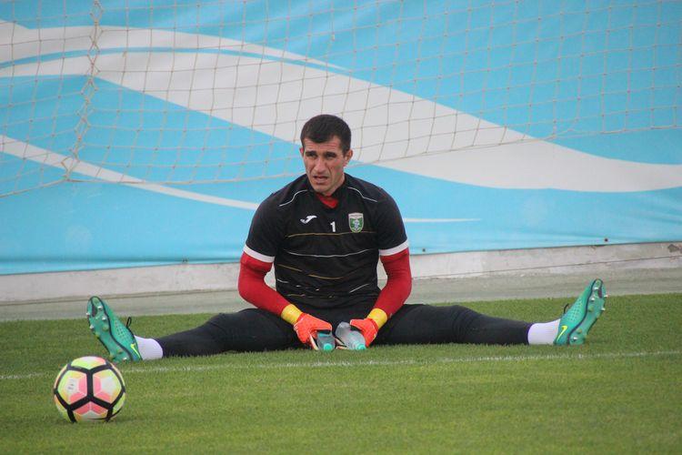 Ignatiy Nesterov UZB Goalkeeper FC Lokomotiv Uzbek-