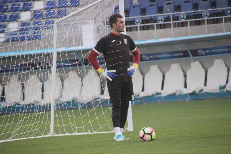 Ignatiy Nesterov GOALKEEPER FOR LOKOMOTIV FC