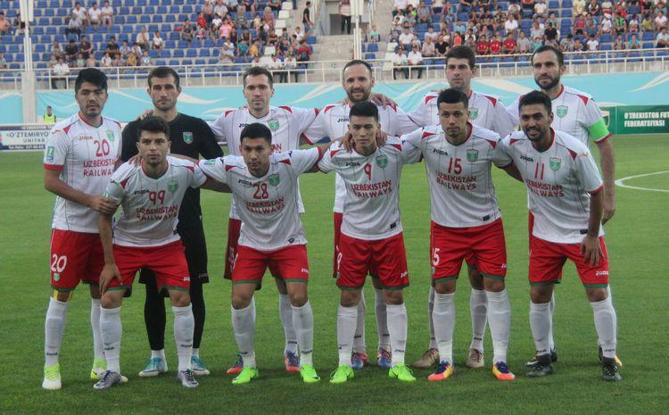 FK Lokomotiv UZB 2017 -