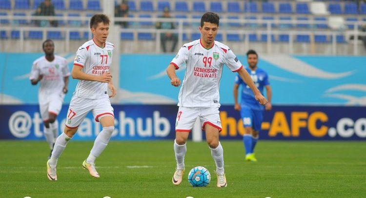 FC Lokomotiv Tashkent UZB