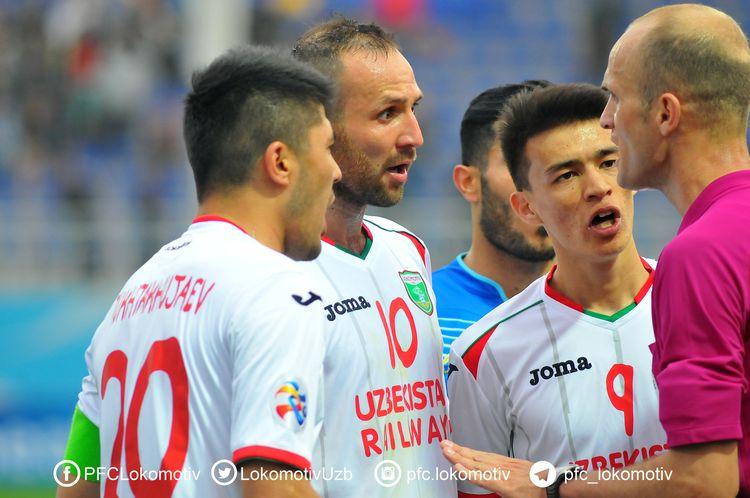 FC Lokomotiv Tashkent Uzbekistan ACL 2017