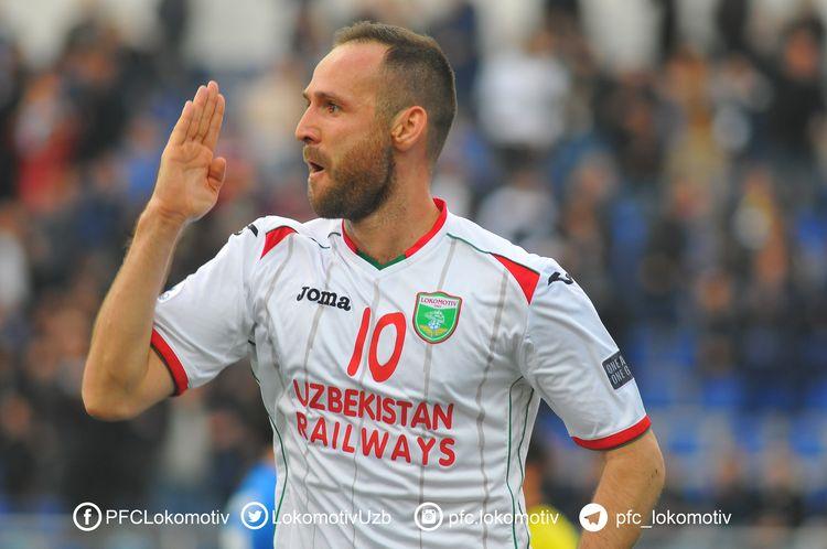 Marat Bikmaev PFC Lokomotiv Tashkent Uzbekistan 2017