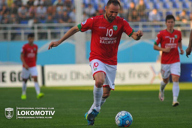 Marat Bikmaev UZB Lokomotiv footbal club Tashkent