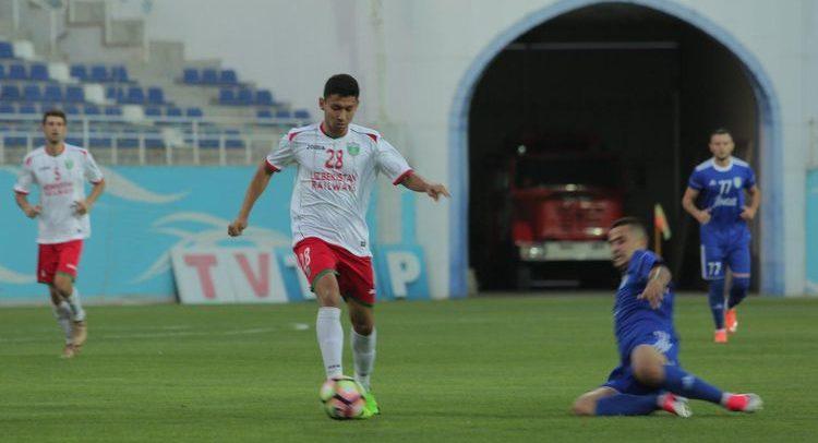 Shuxrat Muhammadiev FC Lokomotiv UZB player