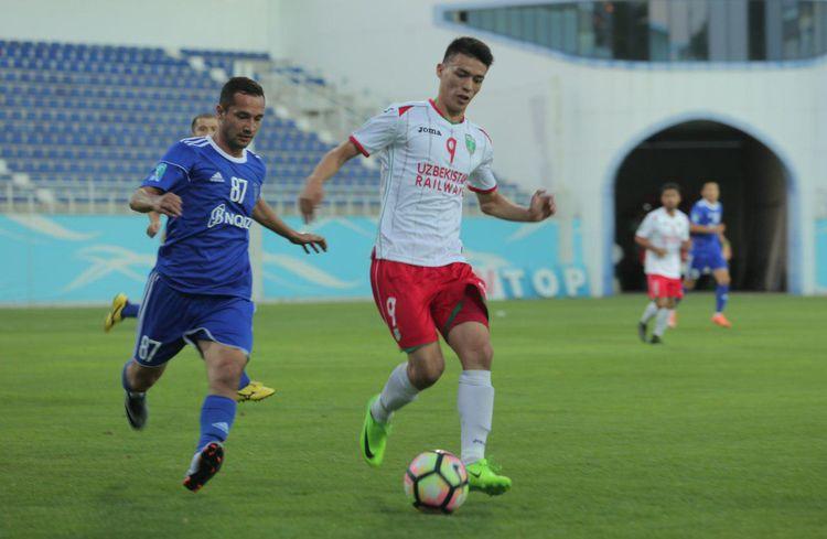 FC Lokomotiv Tashkent 2017 UZBEKISTAN -