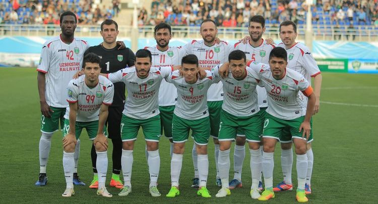 Lokomotiv Tashkent FC 2017