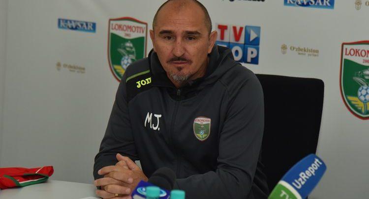 Mirko Jelicic football coach FC Lokomotiv UZB