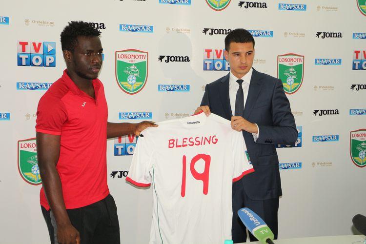 Olabiran Blessing Muyiva NIGERIA FC Lokomotiv UZB --