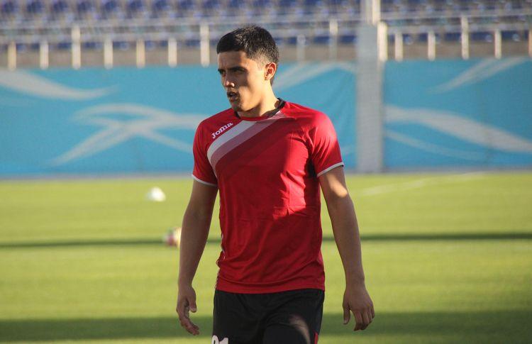 Sanjar Shoahmedov UZB player 55