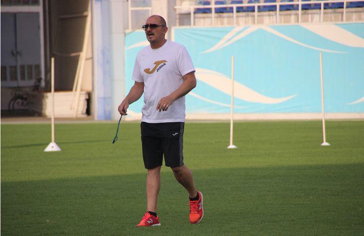 Mirko Jelicic coach FC Lokomotiv Uzbekistan