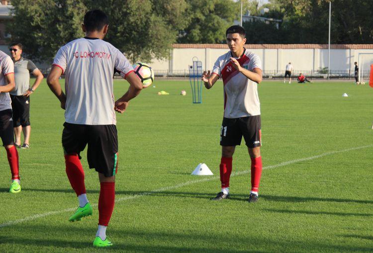 FC Lokomotiv Tashkent _ mashg'ulot - training session -