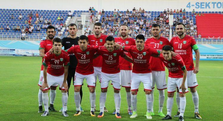 FC Lokomotiv Tashkent UZBEKISTAn 2017 -