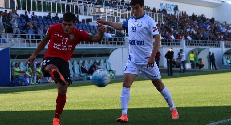 Oliy Liga: Lokomotiv - Mash'al - futbol