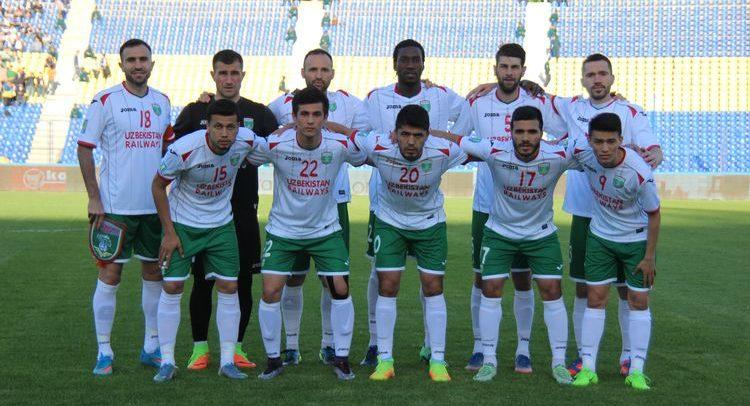 PFC Lokomotiv Uzbekistan 2017 team photo