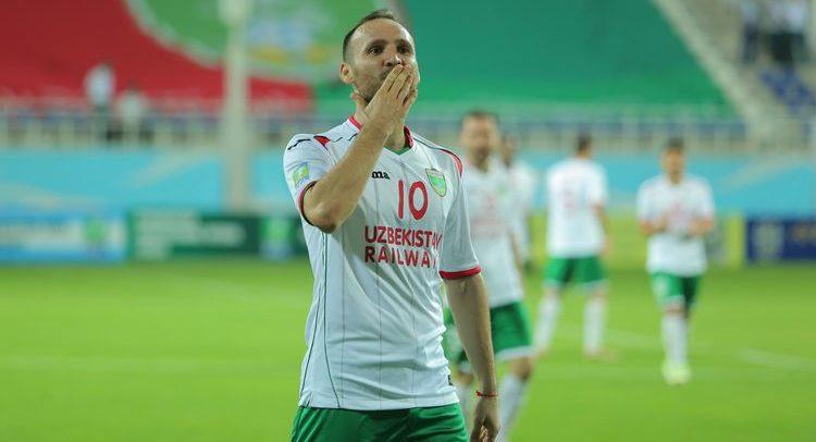 Marat Bikmaev FC Lokomotiv Tashkent Uzbekistan -