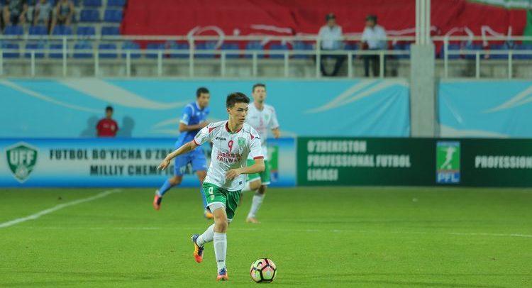 Ikrom Alibaev Uzbekistan FC Lokomotiv Tashkent 9-