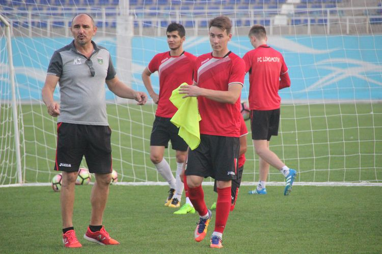 Mirko Jelicic Lokomotiv Uzbekistan coach