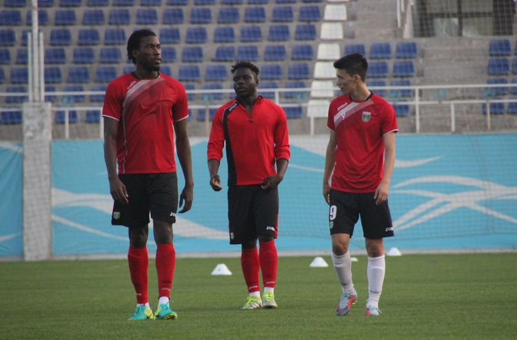Mohamed Kone - Ikrom Alibaev - Olabiran Blessing - Lokomotiv FC UZB