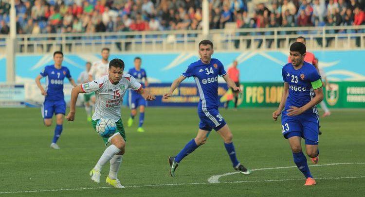 Uzbekistan football Lokomotiv v Nasaf