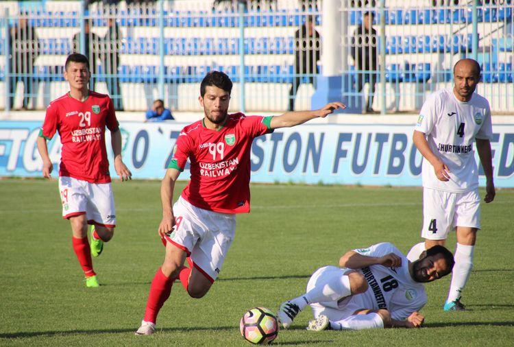Football club Lokomotiv Tashkent UZB - UZ