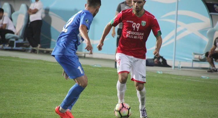 Lokomotiv Tashkent Football club UZB