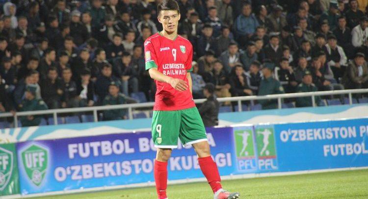 Ikrom Alibaev FC Lokomotiv Uzbekistan 9