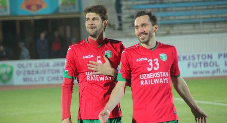 Kahi Maharadze FC Lokomotiv Tashkent UZB 5