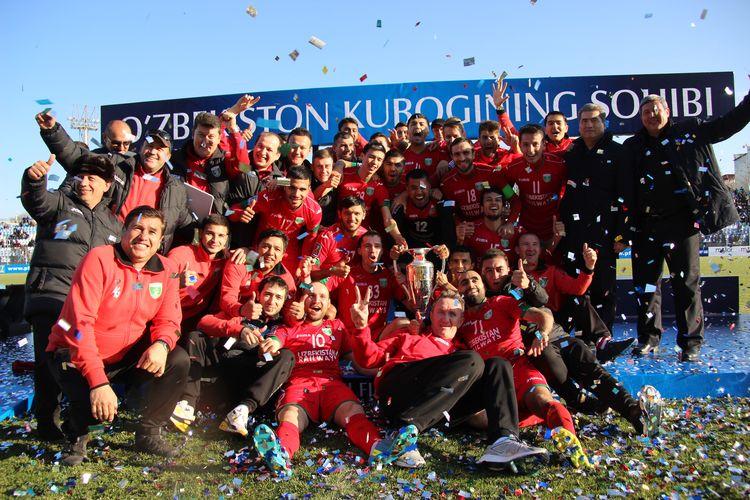 FC Lokomotiv UZBEKISTAN cup winner 2016