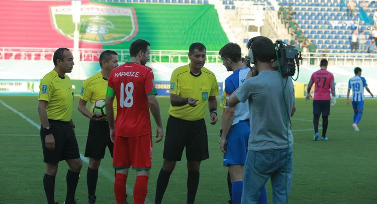 Zokir Qodirov referee UZB --