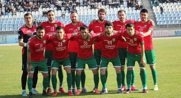 FK Lokomotiv Tashkent UZ 2017 UZB