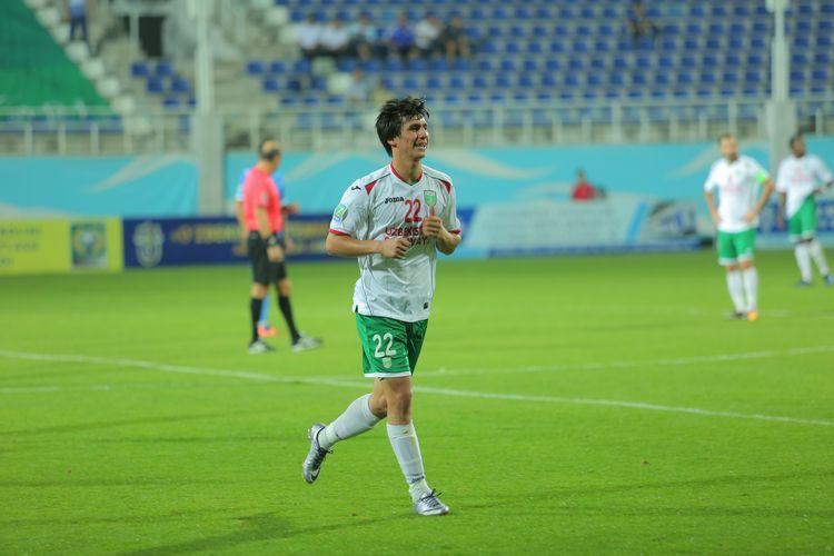 Murod bobojonov uzbek player football