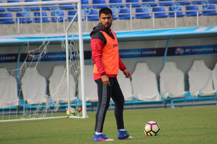 Sadriddin Abdullaev PFC Lokomotiv Uzbekistan football