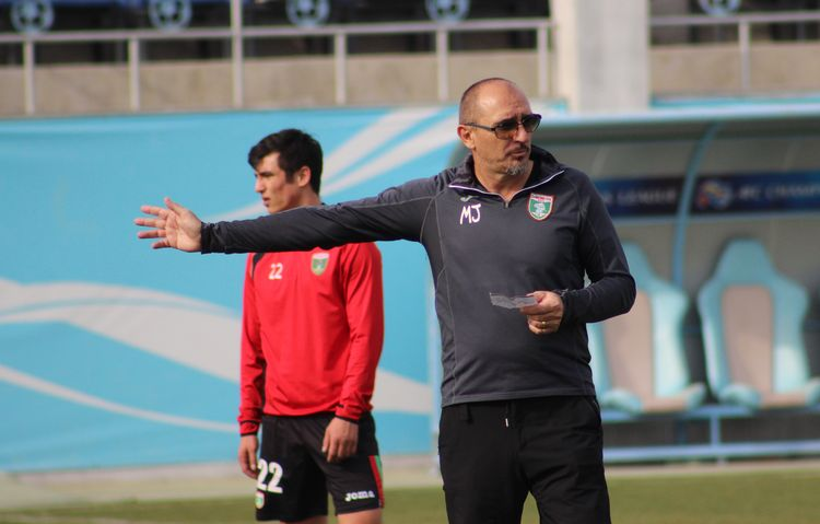 Jelicic Mirko coach of PFC Lokomotiv UZBEK CLUB