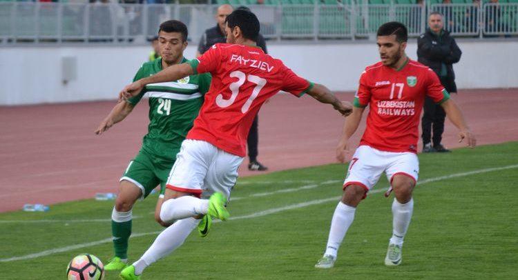 Neftchi - Lokomotiv Oliy liga 0-0