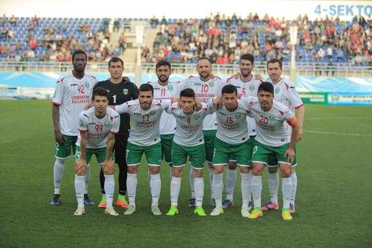 Lokomotiv Uzbekistan 2017 football club ---