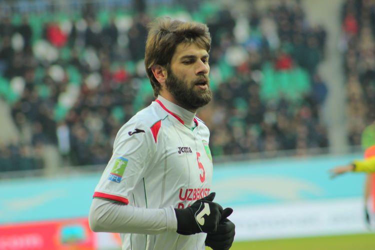 Kakhi Makharadze Goergia player Uzbekistan Lokomotiv PFC