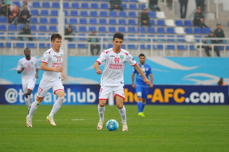 Lokomotiv Tashkent Uzbekistan FC - 2017 -