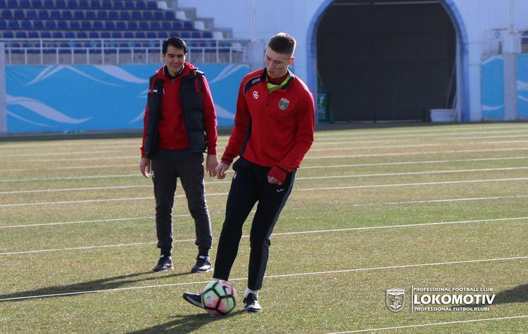 PFC Lokomotiv training UZBEK CLUB --